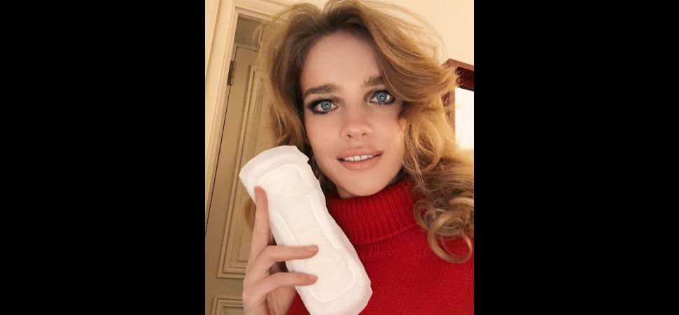 Natalia Vodianova quiere que hablemos de la menstruación
