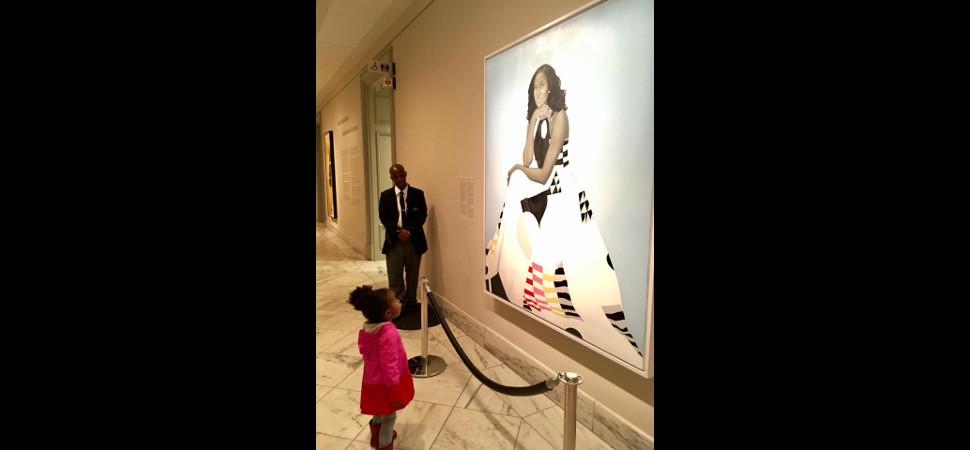 De cómo Michelle Obama y una niña de 2 años se convirtieron en fenómeno viral (dos veces)