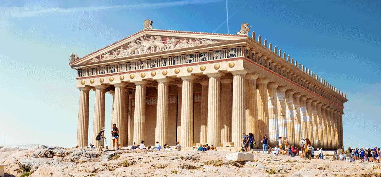 Así eran el Partenón y otras seis maravillas arquitectónicas