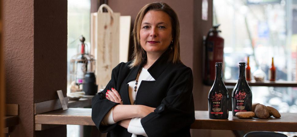 La mujer que ha creado la cerveza que quiere ser champán