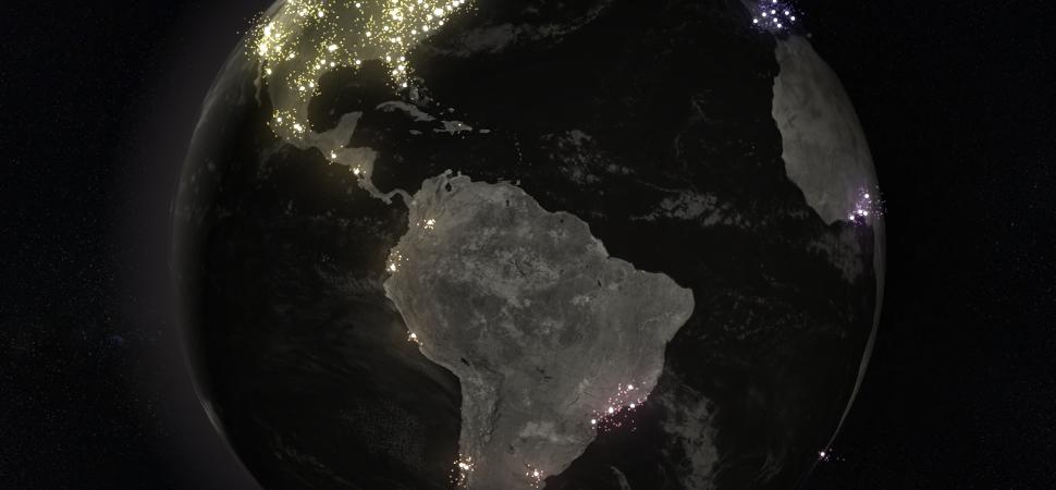 Este mapa interactivo muestra cómo #MeToo se extendió por el mundo en tiempo real