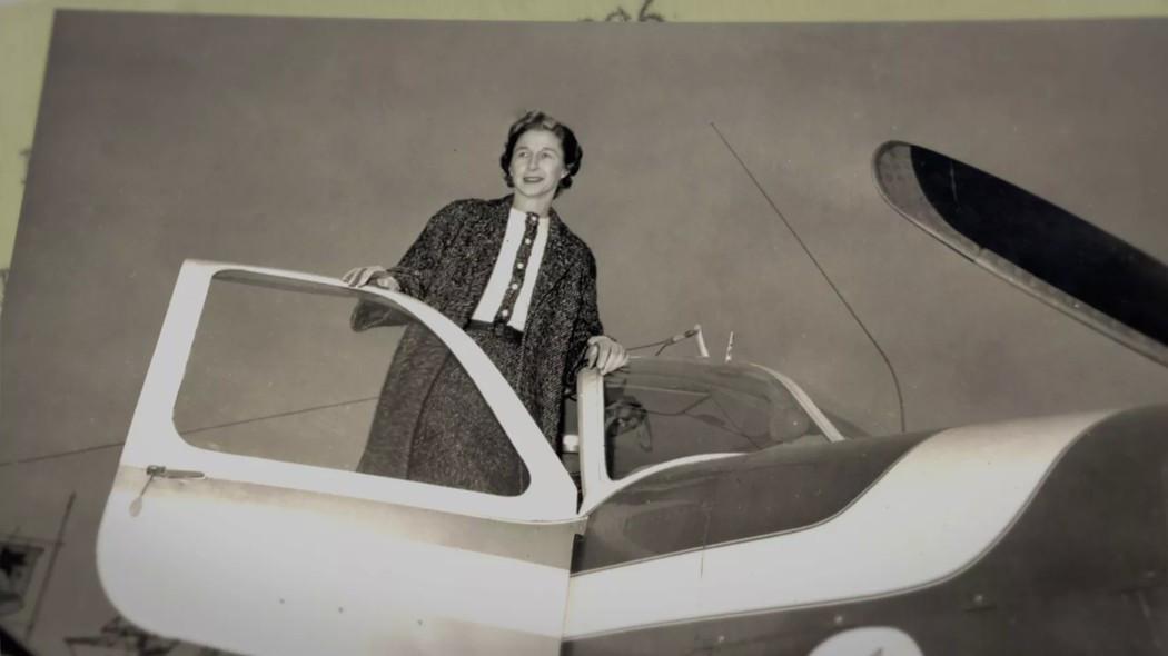 Jane Hart, piloto, madre de ocho y otras muchas cosas. Foto: Netflix