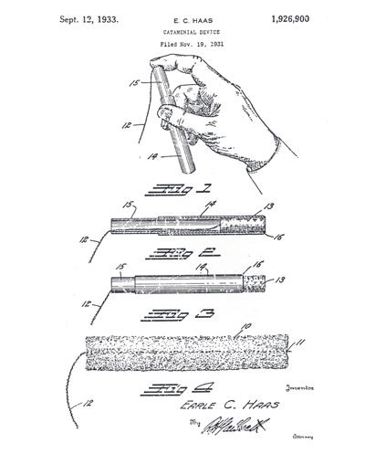 Patente del doctor Haas. Foto: P&G