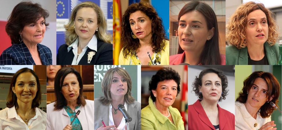 ¿Quiénes son las nuevas ministras?