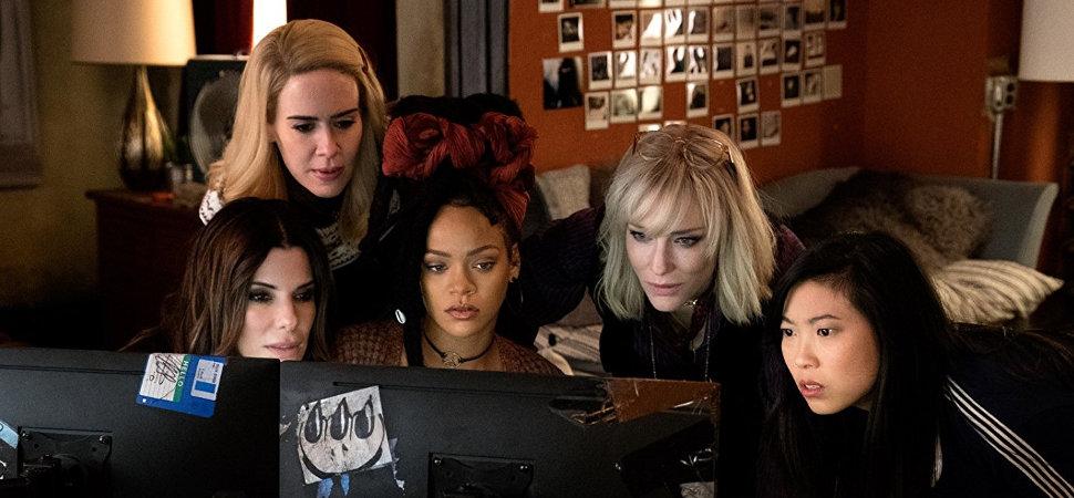 'Ocean's 8' rompe con la maldición de los 'remakes' femeninos