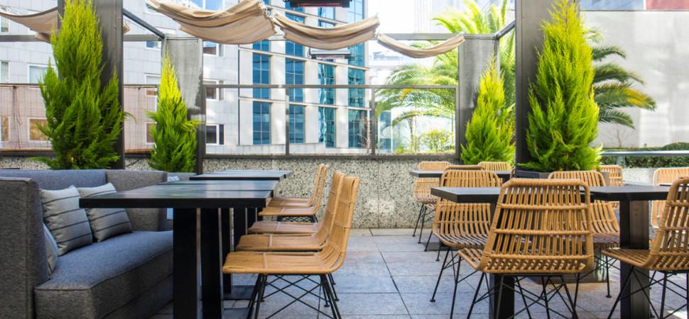 Las terrazas son para el verano (y si son azoteas, mejor)