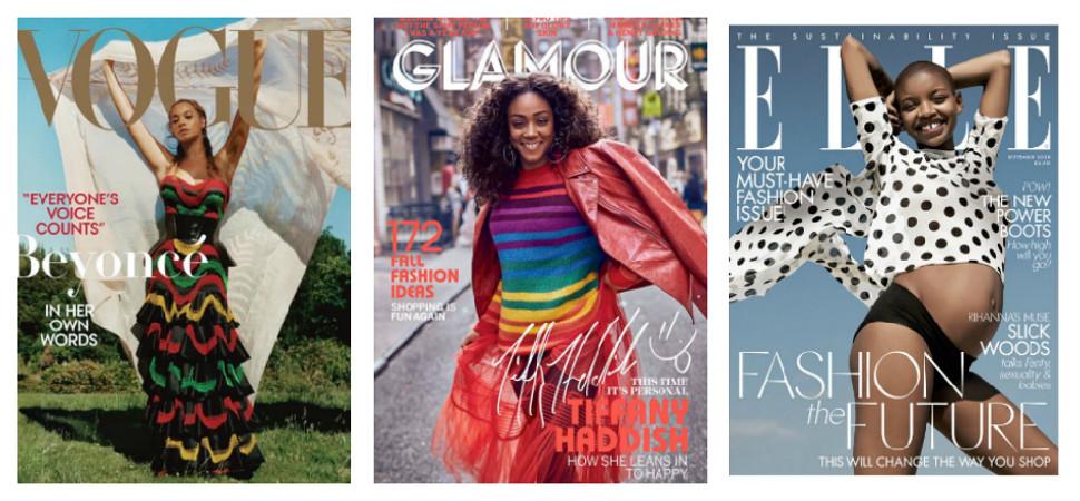 Las mujeres negras toman las portadas